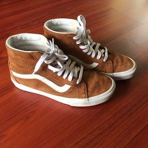 Vans x Jcrew hi-top sneakers size 9.5